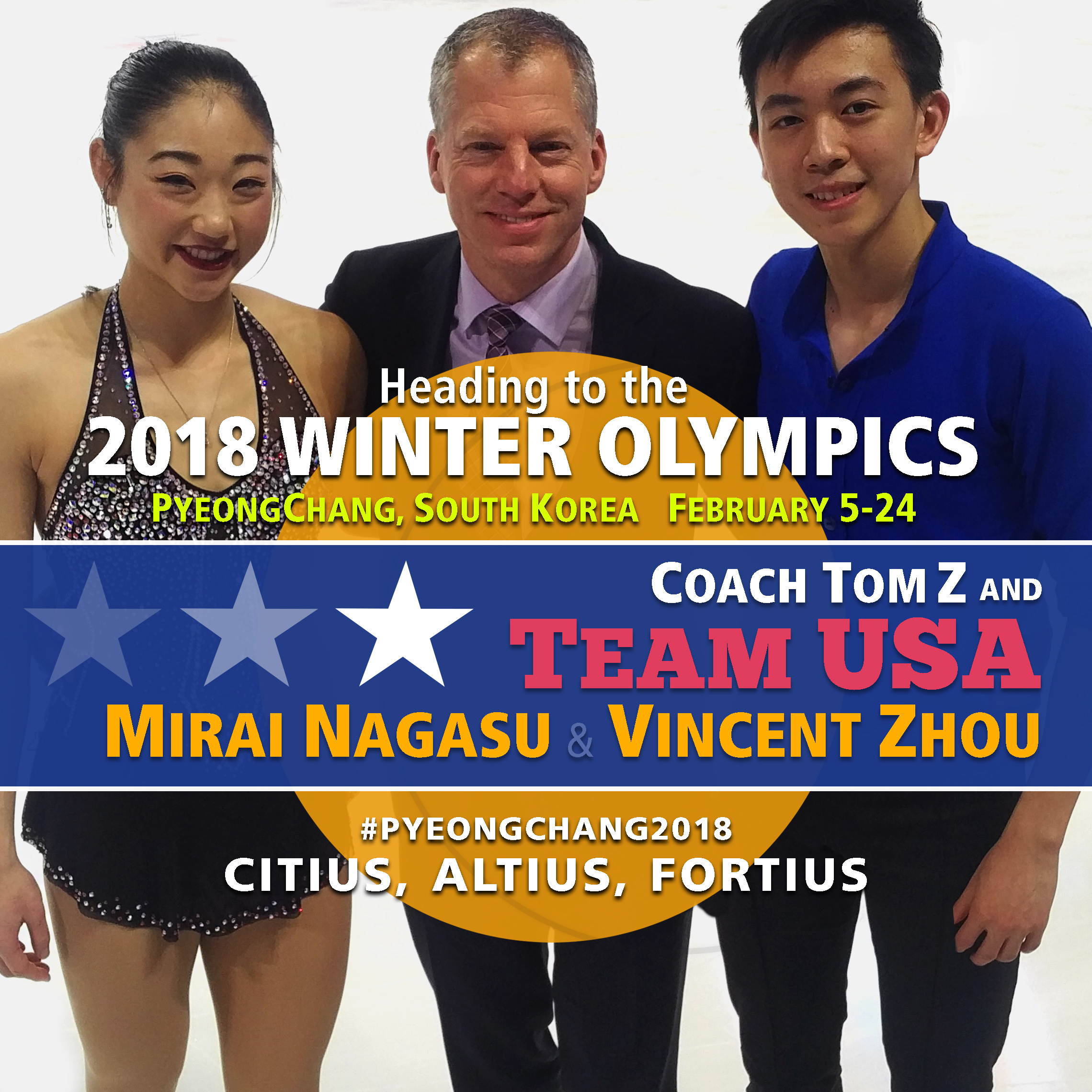 Coach Tom Z will be at the Winter Olympics 2018 with Mirai Nagasu and Vincent Zhou