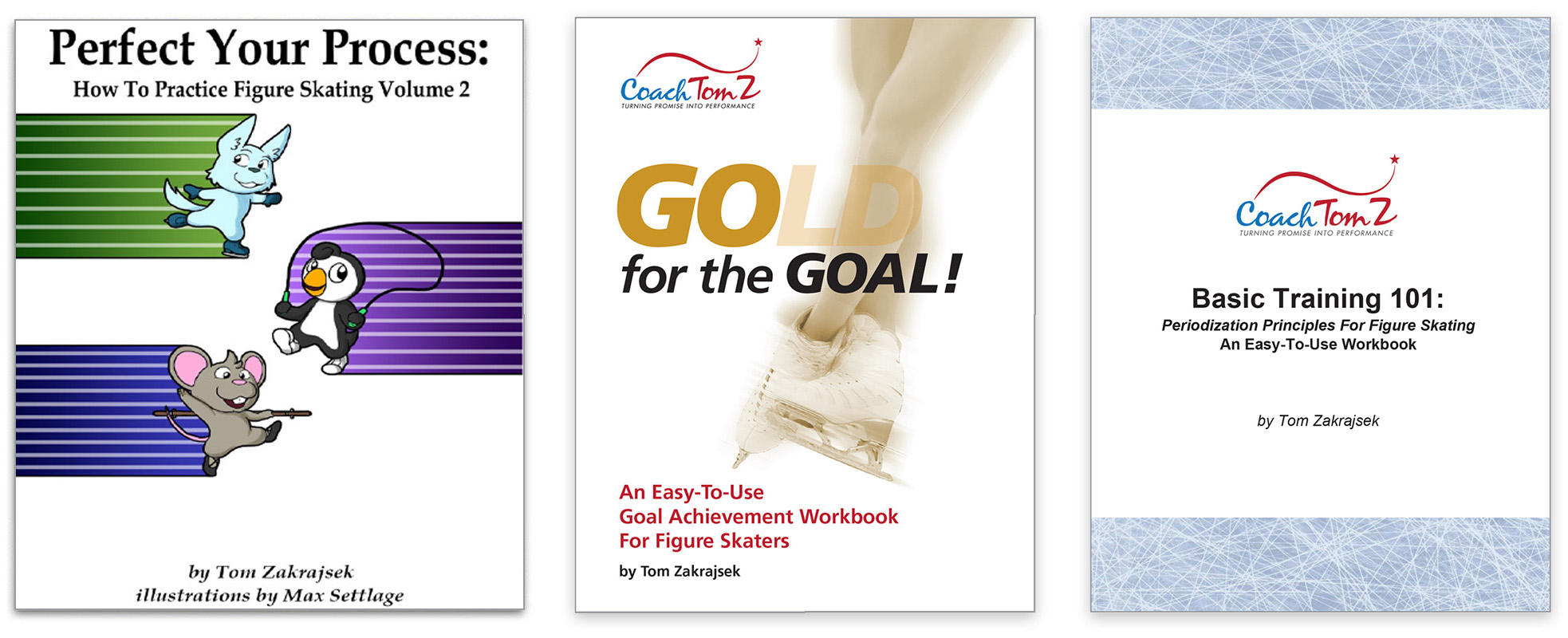 Figure Skating E-Workbook Bundle