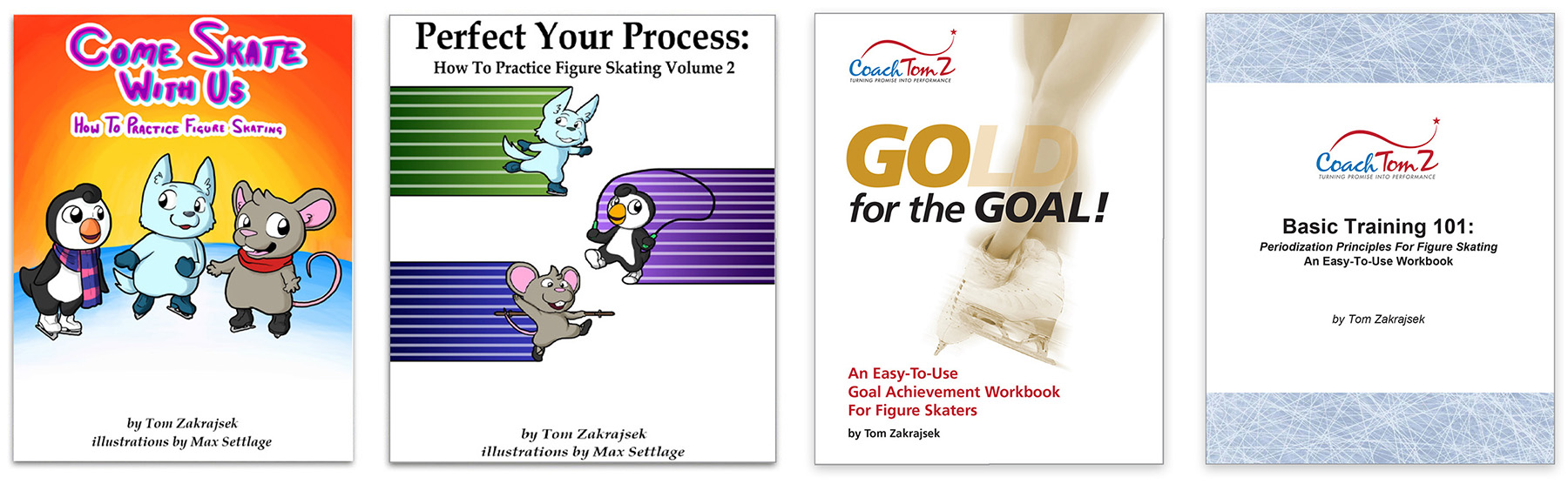 Coach Tom Z Figure Skating Training E-Books