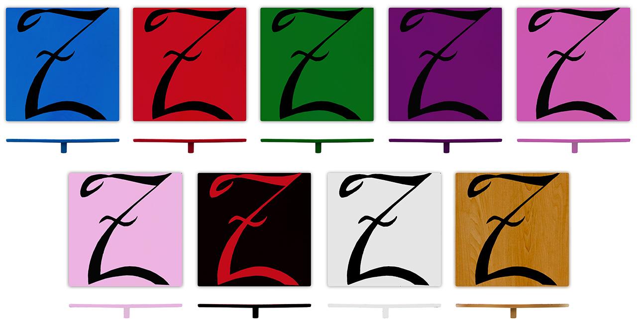 Z Boards in multiple colors